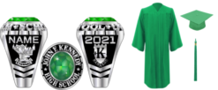 Kennedy Ring and Cap & Gown Package