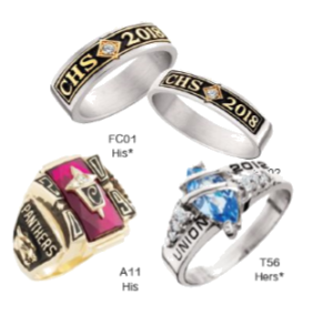 Magnolia Senior Package Additional Ring Designs (additional cost)